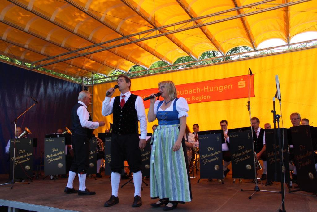 Konzert im Schlosspark Laubach am 16.08.2019